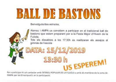 BALL DE BASTONS